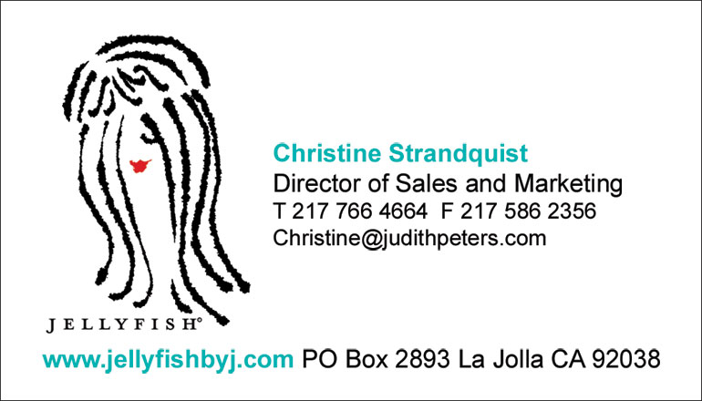 Jellyfish business card front